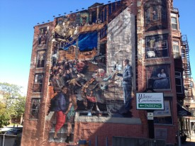 Mural in Haverhill, 23 September 2012